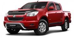 Holden Colorado Storm Prepares to Take Over the Auto Market.  Australian pick-up Holden Colorado that is a copy of the Chevrolet vehicle of the same name has received a new Storm version that implies changes in the exterior look of the model.  #Holden #Colorado #Storm #Auto #Australian #Chevrolet #cars #news