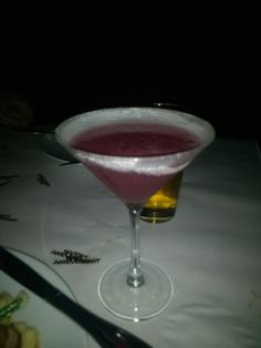 And the Pomagranite Martini
