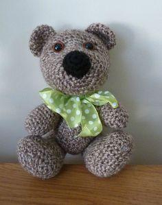 Amigurumi, crochet, ours