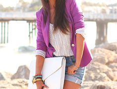 purple blazer <3