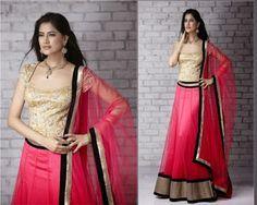 Party Wear Lehenga Saree With Pricehttp://www.fashioncluba.com/2017/04/top-blouse-designs-pattern-for-lehenga-choli.html