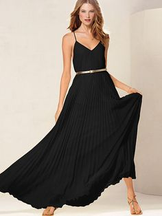 Knife-pleat Maxi... Just saw this on tv.  And it comes in petite!