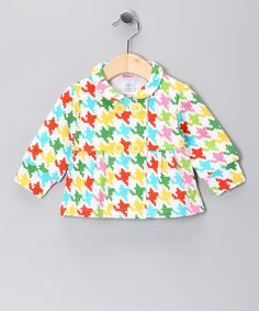 Multicolor Houndstooth Jacket - Infant by Girls' Blow-Out on #zulily today