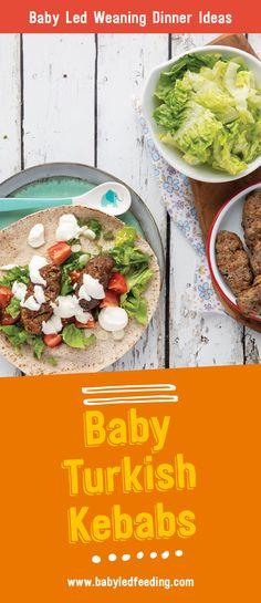 Baby Friendly Turkish Kebabs Baby Led weaning Turkish Kebabs make the perfect healthy family friendly baby led weaning dinner recipe. This easy recipe can be frozen and served as . Healthy Meals For Kids, Healthy Meal Prep, Healthy Foods To Eat, Kids Meals, Healthy Eating, Healthy Recipes, Toddler Dinners, Dinner Recipe For 6, Easy Dinner Recipes