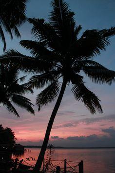 Sunset in #Kerala