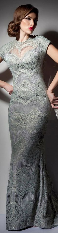 HEAVEN Collection: VANITY  Rochie de seara gown #gray #formal #elegant #large #dress <3