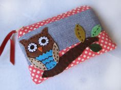 Owl Pencil Bag   Aprender manualidades es facilisimo.com