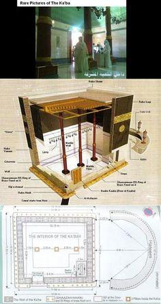Ummatii — sabrofaseapearl: asifeq: Inside the KABAA : . Islamic Images, Islamic Pictures, Islamic Art, Masjid Haram, Mecca Masjid, Mecca Wallpaper, Islamic Wallpaper, Islam Muslim, Allah Islam