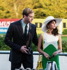 Illya Kuryakin and Gaby Teller at the racetrack - The Man from U. Napoleon Solo, Edna Mode, Carmen Miranda, Ondine, The Man From Uncle, Action Movies, Movies Showing, Girls Shopping, Pretty People
