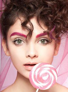 Sugar High - Sugar High beauty story for Chaos Magazine. Model Hayley Wheeler at Next Models.  Makeup by Iris Moreau.  Hair by Travisean Haynes.