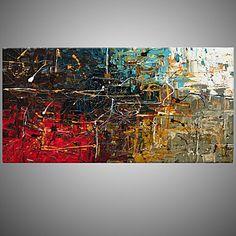 【今だけ☆送料無料】 アートパネル  抽象画1枚で1セット レッド ブラウン ブルー グレー【納期】お取り寄せ2~3週間前後で発送予定