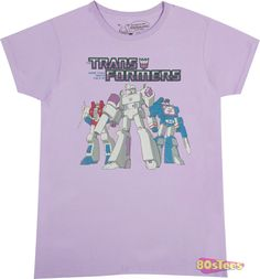 Ladies Trio Transformers Decepticon Shirt