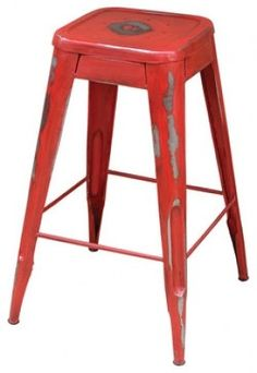 Industrial Bistro Barstool eclectic bar stools and counter stools
