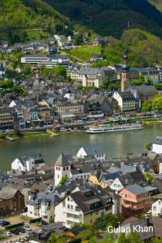 Wonderful photography of Cochem town& Mosel river in Germany
