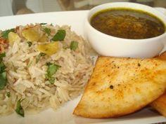 Indian Green Curry w Jasmine #Rice  #Vegan & #Vegetarian #Indian #Green #Curry #Recipe from #myhusbandisnotavegetarian