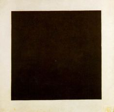 Kasimir Malevich's 'Black square' shows both dominance and balance. The canvas is dominated by the flat black square. The even spacing around the square and the lack of depth and perspective gives the impression of the heavy object balancing in place.