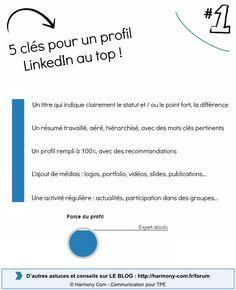 Cette semaine, une petite infographie pour changer !Voici 5 clés importantes pour optimiser votre profil LinkedIn. Ce réseau social s'est…