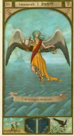(52) IMAMIAH (Kabbalistic angel) protects those born 08 - 12 December, helps to gain independence and protects at work. (ángel Cabalístico) protege aquellos nacidos 08 - 12 diciembre, ayuda a obtener independencia y protege en el trabajo.