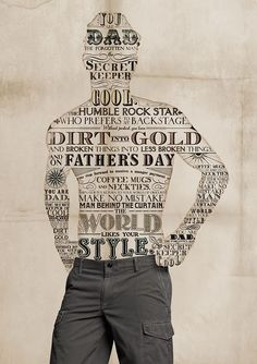 Cool typography. Dad