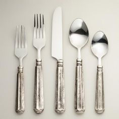 One of my favorite discoveries at WorldMarket.com: Danieli Flatware Collection