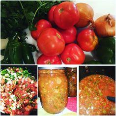 Canning..... Homemade Salsa