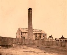 Goodlet and Smith Pottery and Brickworks on Riley St,Surry Hills in Sydney in Sydney City, Surry Hills, Historical Images, Brickwork, Family History, Old Photos, Paris Skyline, The Past, Pottery