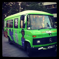 The Gorilla Perfume Bus from the Golden Hour Tour 2012