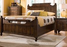 Attic Heirlooms® Feather Bed in Rustic finish, timeless