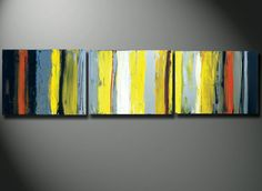 Original Painting, Original Paintings, HUGE Abstract 72, Yellow Modern Art For Living Room or BedRoom Great Gift Original Yellow ABSTRACT