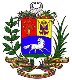 Escudo Nacional de la República de Venezuela Dios y Federación - Muerte al Socialismo del siglo XXI