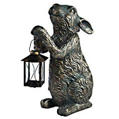 Bought this rabbit today for his room. It looks great on the dresser.