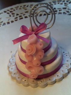 Mini wedding cakes pasta di mais :-)