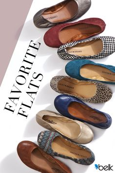 Designed with exposed crisscross stitching at the back of the heels in a classic ballet style, these flats by Lucky Brand effortlessly complement all of your favorite looks. Very flexible with soft padding and full rubber bottoms, they'll be your go-to for long hours on your feet. Find your favorite flats at Belk today.