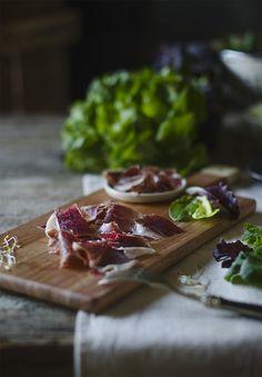 Sabores y Momentos | Ensalada de Foie con Jamón Ibérico {sencilla y gourmet} | http://saboresymomentos.es