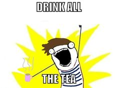 LOL oh hey Louis!! This is me when I try a new flavor! {Try Chocolate Chai}