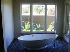 Fancy bathroom from a $1.6 million FORECLOSURE in Santa Fe. Crazy!