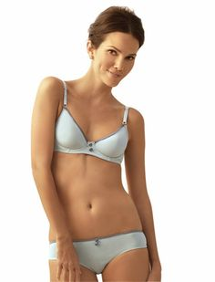 73c1ebb82a141 The Little Bra Company Georgette Underwire Bra is a comfy and cute bra that  fits petite