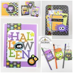 Doodlebug Design Inc Blog: October 31st Collection: Halloween Cards by Piali