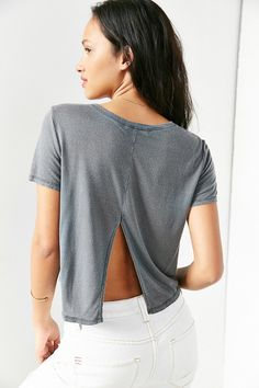 Truly Madly Deeply Sunset Cropped Top - Urban Outfitters