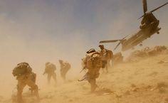 Chinook Afghanistan HD Wallpaper
