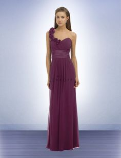 The dress! Bill Levkoff Style 334, Sangria color