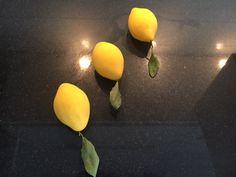 Citron façon Cédric Grolet