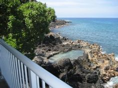 Kailua Kona House Rental: Contemporary Oceanfront Private Home | HomeAway