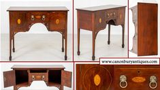 Antique Mahogany Sideboards Guide - Canonbury Antiques Antique Furniture Stores, Reproduction Furniture, Mahogany Sideboard, Antique Sideboard, Victorian Dining Tables, Desk And Chair Set, Cabinet Makers, Furniture Styles, Contemporary Interior