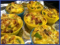 Paleo Sausage & Egg Breakfast Muffins