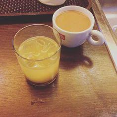 Snídaně. #coffee #with #vodka #atwork  by aneta.simonova