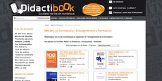 Rayon Enseignement / Formation  http://www.didactibook.com/theme_et_tag/7/Metiers%20et%20formations/138/Enseignement%20%20formation