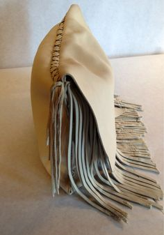 Large #Rustic #Ivory #Leather #Clutch #handmade $65.00