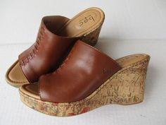 Born Concept women sandals 9 Brown Wedge MINT #Born #PlatformsWedges #Casual