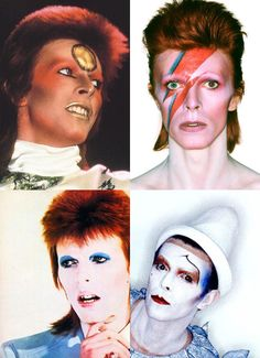 Rock e maquiagem